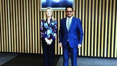 شراكة تعاون بين الاتحادين السعودي والانجليزي في ويمبلي
