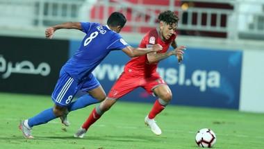 أربعة فرق تتنافس على صدارة المجموعة الأولى في كأس نجوم قطر