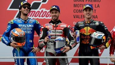 الإيطالي دوفيتسيوزو يفوز بجائزة فالنسيا الإسبانية الكبرى