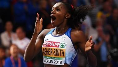 ترشيح دينا آشر بطلة ألعاب القوى في قائمة الأفضل في العالم