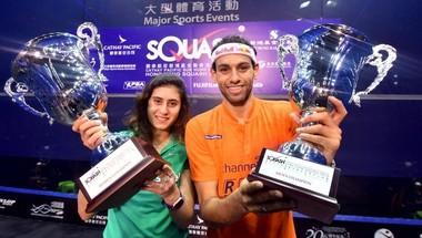 تألق لافت لنجوم مصر في افتتاح بطولة هونج كونج للاسكواش