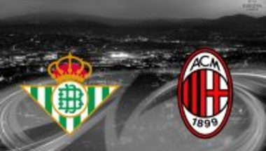 هدف ريال بييتس الاول ( ريال بييتس X ميلان ) الدورى الاوروبي