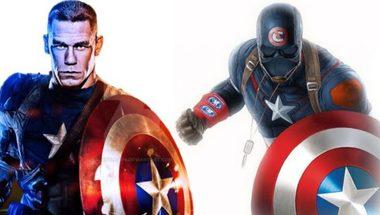 جون سينا: بالتأكيد مستعد للقيام بدور كابتن أمريكا - في الحلبة
