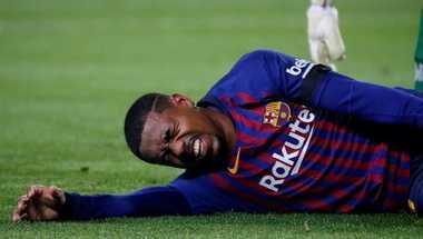 تقرير: مالكوم يغيب عن برشلونة أسبوعين