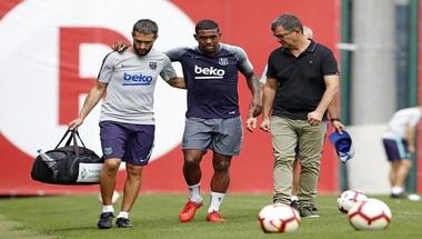 برشلونة يعلن عن حجم إصابة مالكوم