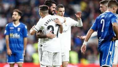 """بالفيديو - إيسكو """"القائد"""" يستفيق.. ريال مدريد ينهي مغامرة مليلية بسداسية"""