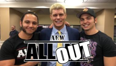 All Elite Wrestling (AEW) : العلامات التجارية المسجلة باسم الاتحاد الجديد - في الحلبة