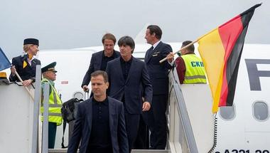 بعثة ألمانيا تصل إلى روسيا للدفاع عن اللقب المونديالي