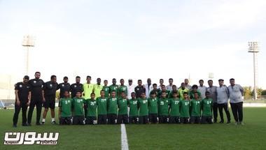 رئيس الاتحاد السعودي يحث لاعبي المنتخب الوطني تحت 16 عامًا على أهمية الانضباط والتركيز