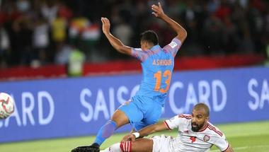 جماهير الهند تحمل المهاجم أشيكي مسؤولية الخسارة أمام الإمارات