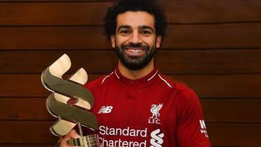 محمد صلاح يتوج بجائزة لاعب شهر ديسمبر في ليفربول