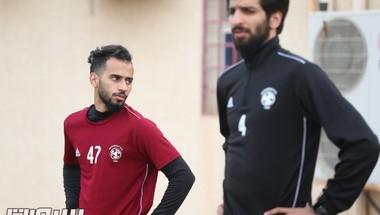 الفيصلي يعاود تدريباته في مقر النادي بمدينة حرمة