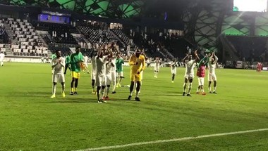 بالفيديو.. لاعبو الأخضر يؤدون رقصة التأهل إلى ثمن نهائي كأس آسيا2019 - صحيفة صدى الالكترونية