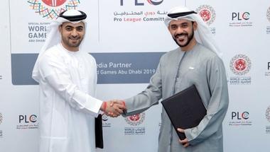 اتفاقية شراكة بين «ألعاب أبوظبي العالمية» ولجنة دوري المحترفين