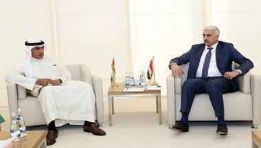 الرميثي يستقبل وزير الشباب والرياضة العراقي