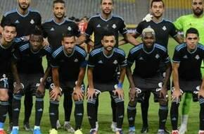 عبدالله السعيد يتقدم لبيراميدز بالهدف الأول أمام الإنتاج الحربي - الرياضة