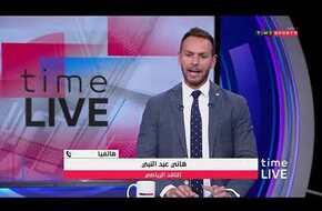 "time live - هاتفيا..هاني عبد النبي/ الناقد الرياضي ""فايلر طلب من ادارة النادي خوض مباراة الجونة """