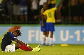 نتيجة مباراة البرازيل وفرنسا فى كأس العالم لأقل من 17 عاماً - ميركاتو داي - الرياضة