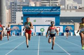انطلاق عالمية ألعاب القوى لأصحاب الهمم في دبي - الرياضة