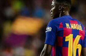 برشلونة يرفض رحيل موسى واجي في الشتاء - الرياضة