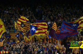 رئيس نادي برشلونة يطلب عدم إدخال علم إسبانيا للكامب نو - الرياضة
