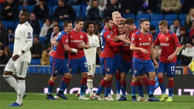 ريال مدريد يتعرض لخسارة مهينة أمام سيسكا موسكو