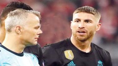 اتحاد الكرة الأوروبي يفتح تحقيقًا بشأن بطاقة راموس الصفراء