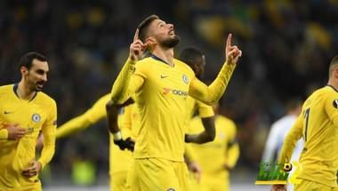 فيديو: تشيلسي يتأهل لربع نهائي الدوري الأوروبي ويكتسح دينامو كييف بخماسية