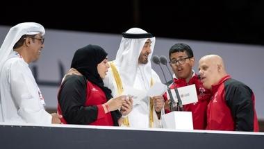 محمد بن زايد: رسالتنا إلى العــالم لا مستحيل مع الإصرار والعزم