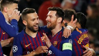 ألبا ينتقد تجاهل البعض في إسبانيا لإنجازات برشلونة