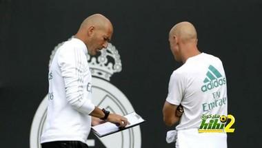 زيدان يوافق على خطة ريال مدريد