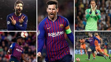 سبعة أسباب للإيمان بنجاح برشلونة في دوري الأبطال