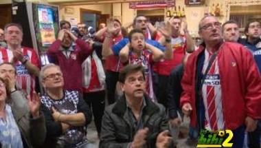 فيديو: صدمة جماهير أتلتيكو مدريد من الخسارة أمام يوفنتوس