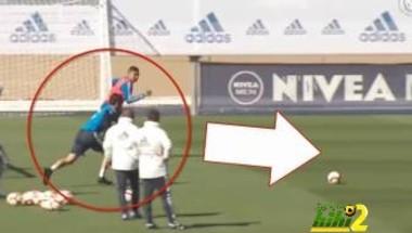 فيديو: أصحاب المهام الدفاعية يتألقون بمران ريال مدريد