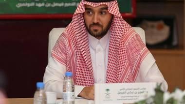عبدالعزيز الفيصل: «مشروع المسار الرياضي» سيحفز المجتمع على ممارسة الرياضة