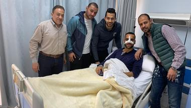 لاعب المقاولون العرب يجري جراحة عاجلة في الأنف عقب لقاء الزمالك