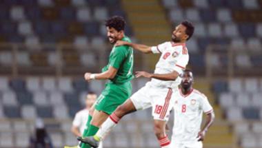 الأخضر يفرط أمام الإماراتي وديا