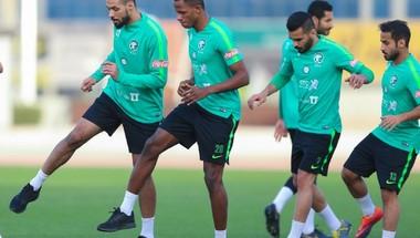 المنتخب الوطني الأول يستأنف تدريباته ضمن معسكر الرياض