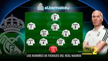 التشكيل المثالي الذي يريده زيدان في ريال مدريد