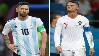 رونالدو وميسي يعودان للمباريات الدولية في ساعة واحدة