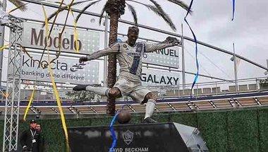 جالاكسي الأمريكي يكشف عن تمثال تذكاري لبيكهام -  سبورت 360 عربية