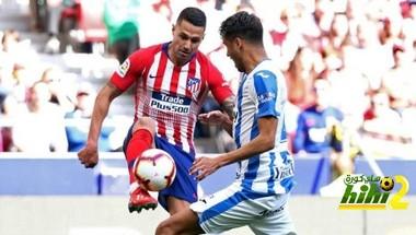 ليجانيس يفرض التعادل على أتلتيكو مدريد في الشوط الأول
