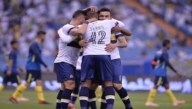 بالصور.. النصر يكتسح الجيل ويتأهل إلى نصف نهائي كأس الملك - صحيفة صدى الالكترونية