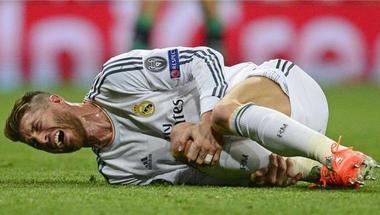 رسميًا.. ريال مدريد يُعلن إصابة سرجيو راموس