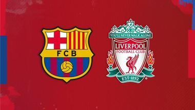 برشلونة يوجه رسالة لليفربول قبل صدام نصف النهائي