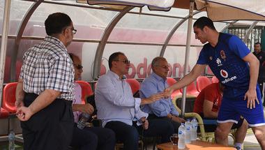 انطلاق جلسة الخطيب المصيرية مع لاسارتي ولاعبي الأهلي
