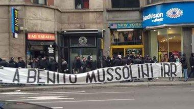 لاتسيو يتبرأ من لافتة موسوليني في بيان رسمي -  سبورت 360 عربية
