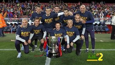 ليجانيس يهنئ برشلونة على فوزه بالليجا