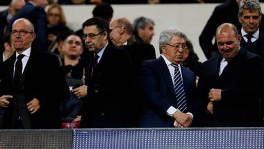 رئيس برشلونة يرفض تأكيد مفاوضات جريزمان ويتحدث عن اعتزال ميسي
