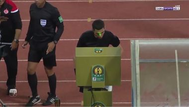 جهاد جريشة يلغي هدف للوداد أمام الترجي في نهائي دوري أبطال أفريقيا - بالجول